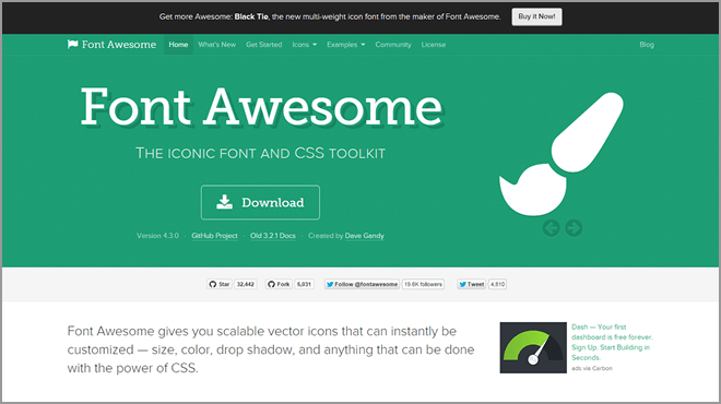 Font Awesomeって?