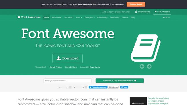 Font Awesomeを使ってアイコンをWebフォントで表示しよう